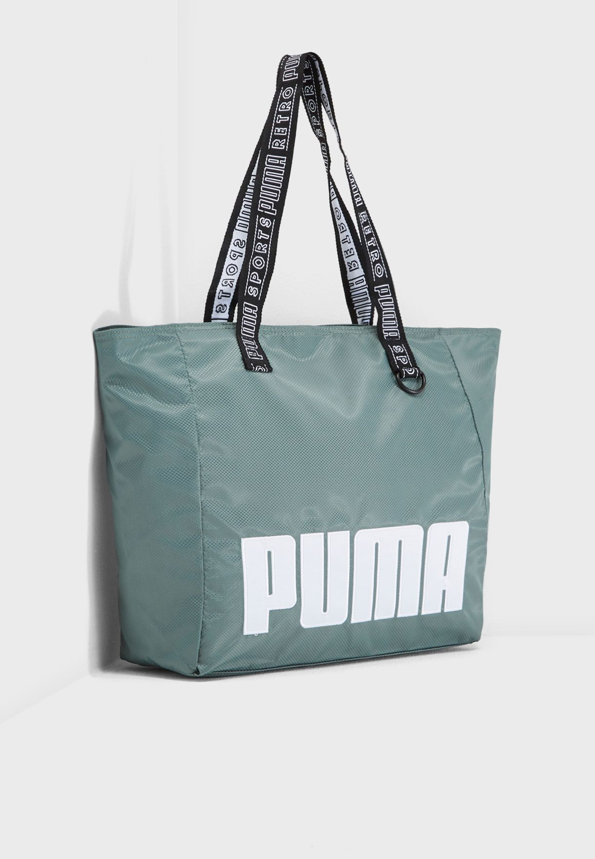 684f97494aa5 Shop PUMA green Large Prime Street Shopper 7540902 for Women in UAE ...