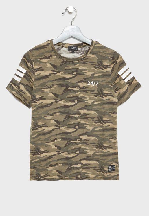 Teen  Camo T-Shirt