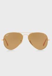 082b912083f Shop Ray-Ban gold RB3025 Aviator Evolve 8053672833904 for Men in UAE -  RA736AC49HKO