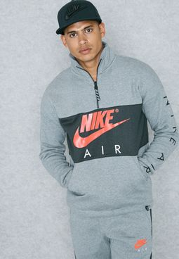 Air Half Zip Fleece Sweatshirt
