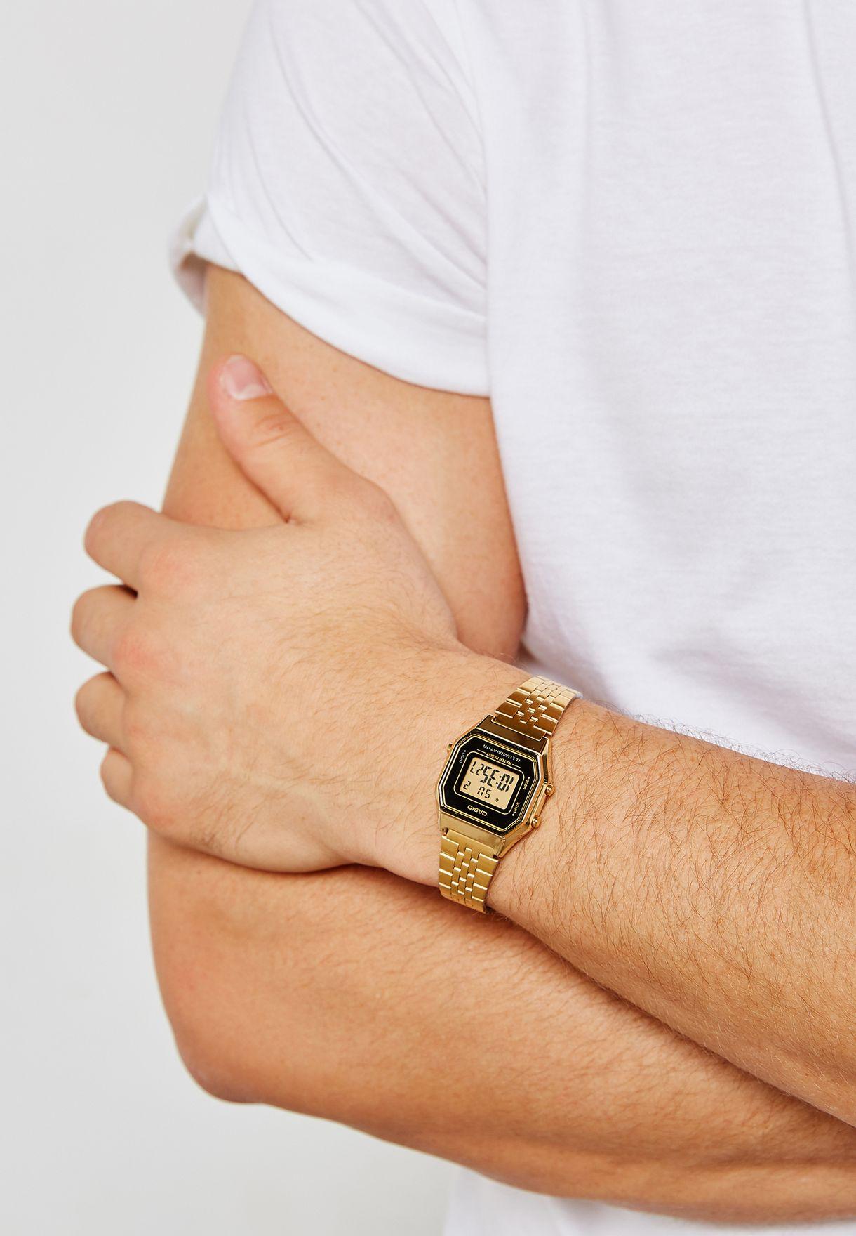 Vintage Digital Bracelet Watch