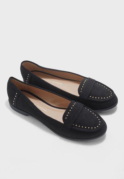 Leah Studded Loafers