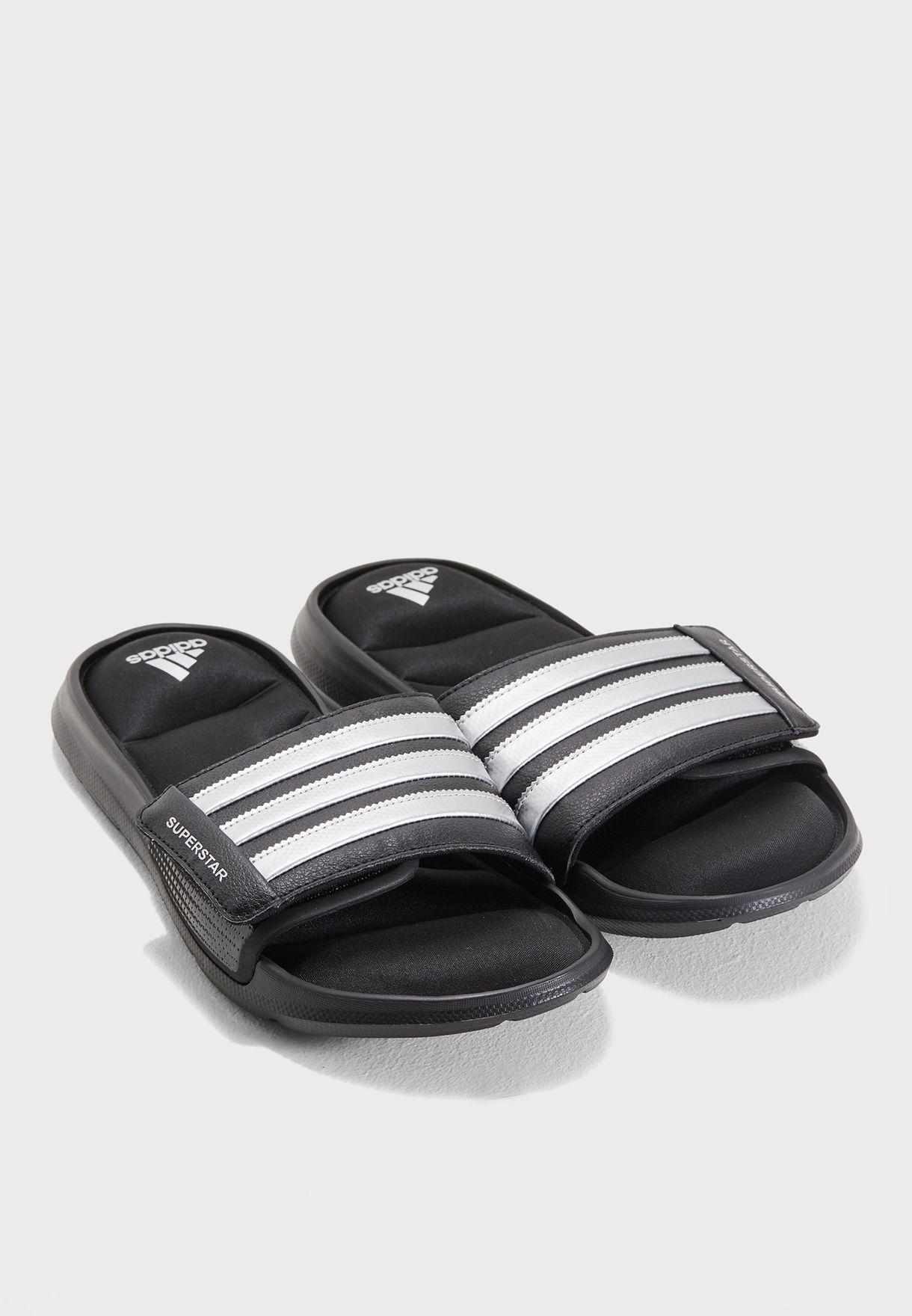 on sale cbaef 5ac6c Shop adidas black Superstar Slide B43623 for Men in UAE - AD476SH39YGI