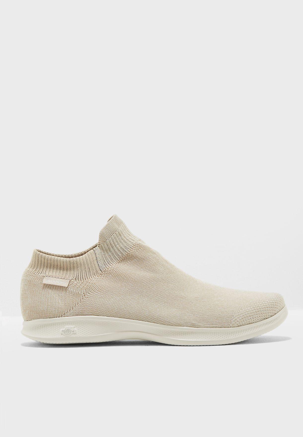 Skechers beige Go Step Lite - Ultrasock