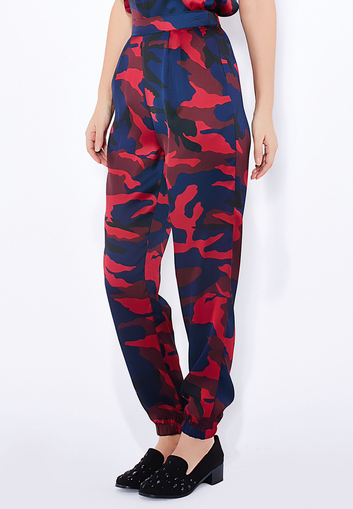 d6dc31c169389 Shop Missguided prints Camouflage Print Joggers for Women in UAE ...