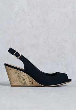 Demi Wedge Sandal