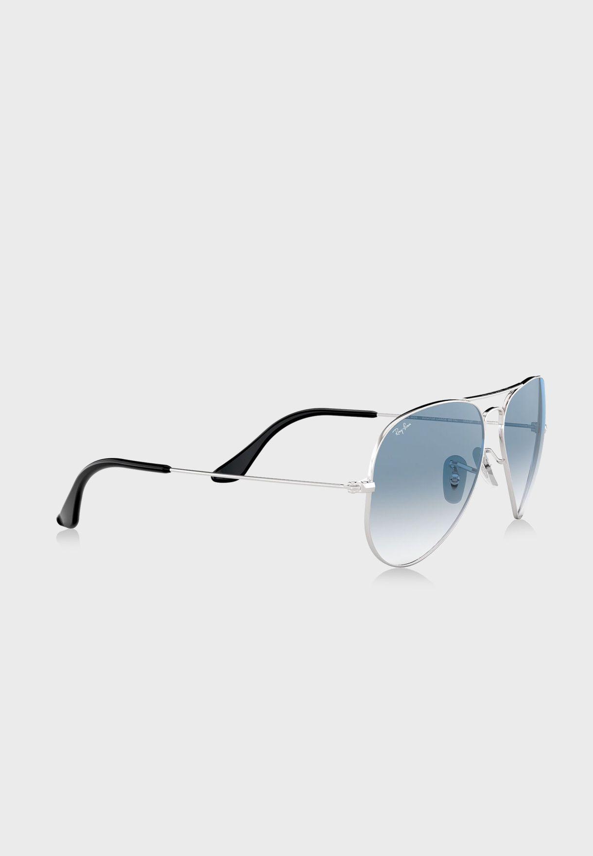 0RB3025 Aviator Gradient Sunglasses