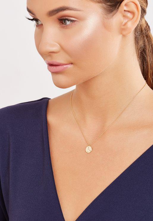 Gift Envelope Cancer Constellation Necklace