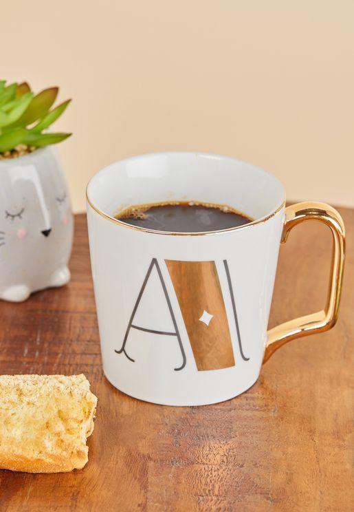 A Initial Mug