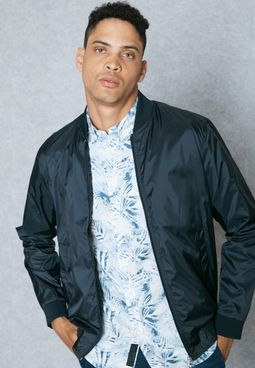 Akm Slim Bomber Jacket
