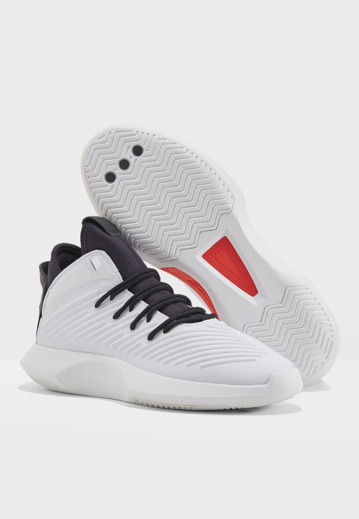 Shop adidas Originals white Crazy 1 ADV AQ0320 for Men in Qatar ... 55204b6f7