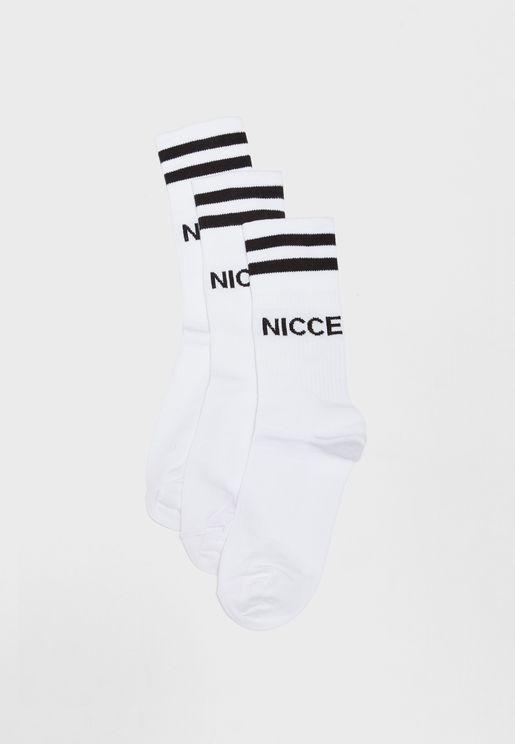 3 Pack Cavallet Sport Socks