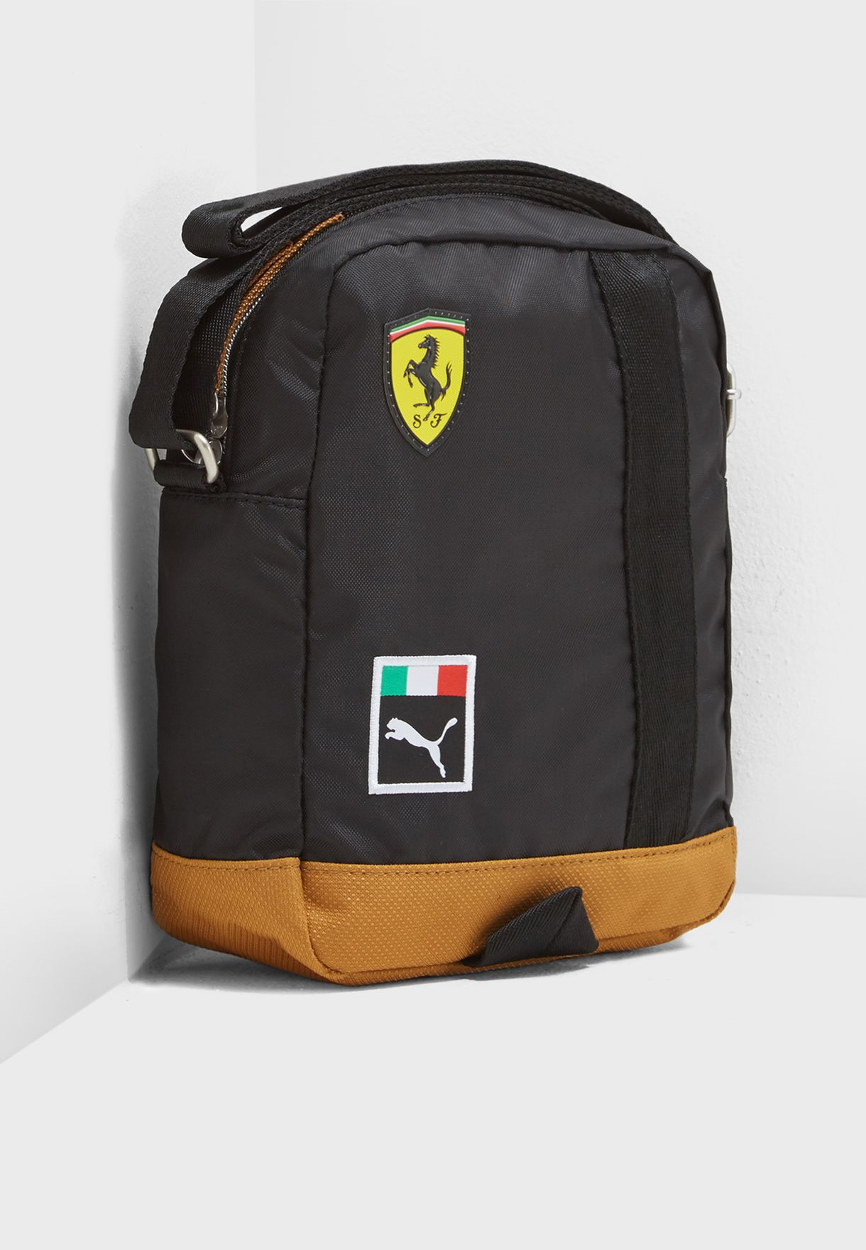 2ac544be5c Shop PUMA black Ferrari Fanwear Messenger 7550102 for Men in Kuwait ...