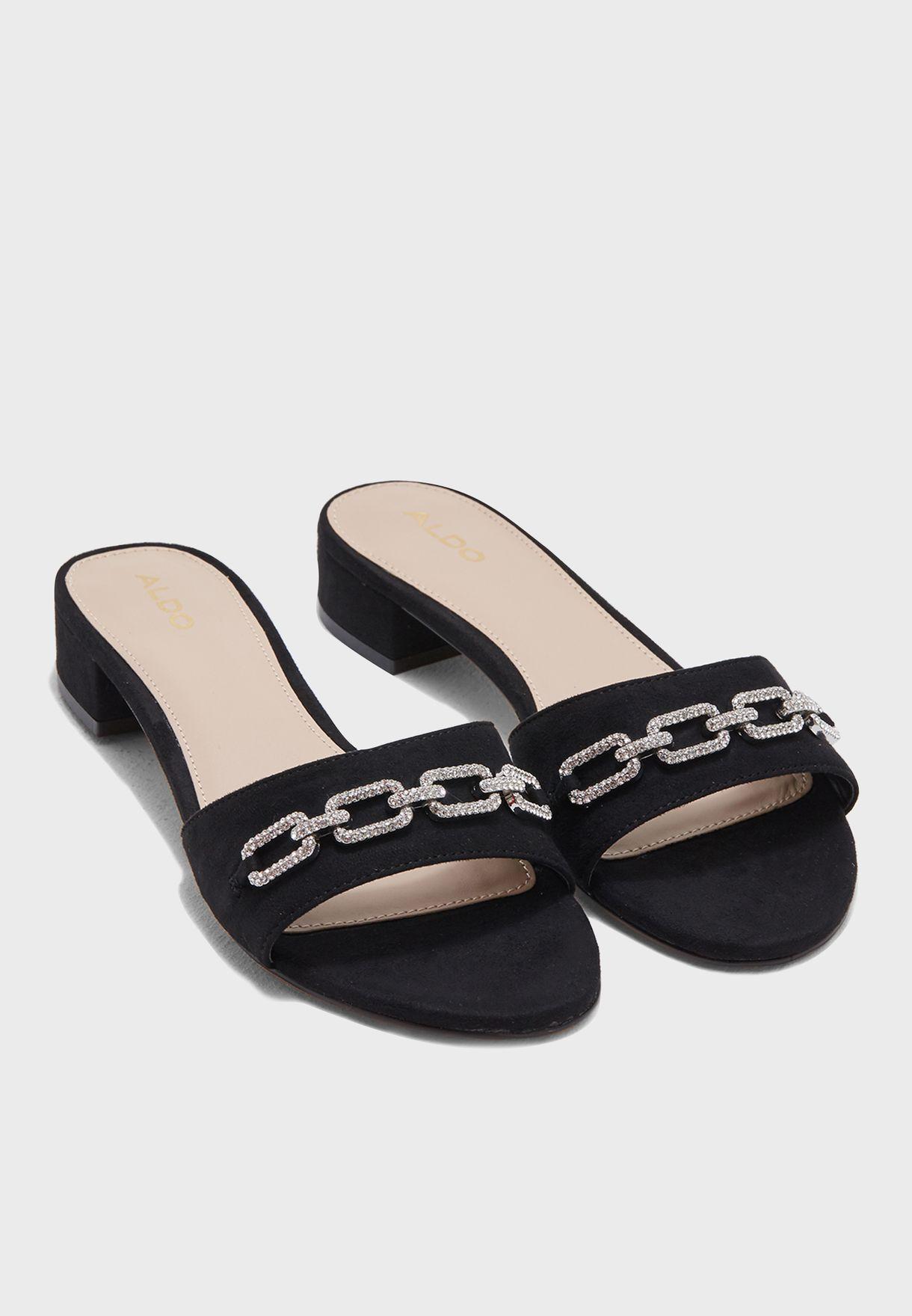 ca524a44bef Shop Aldo black Galiaclya Sandal GALIACLYA98 for Women in Saudi ...