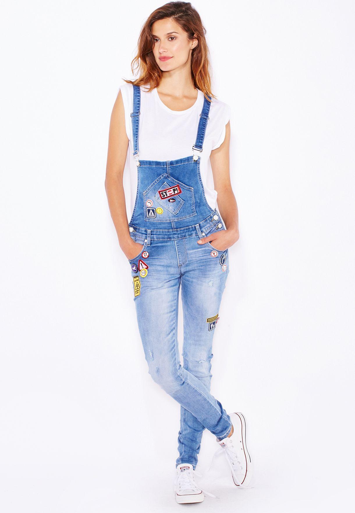 83d31a45fc292 تسوق افرول جينز ماركة جينجر لون أزرق في السعودية - GI121AT39BTG