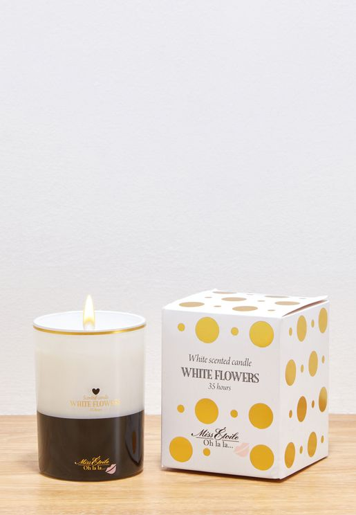 35 Hours Floral Scented Candle