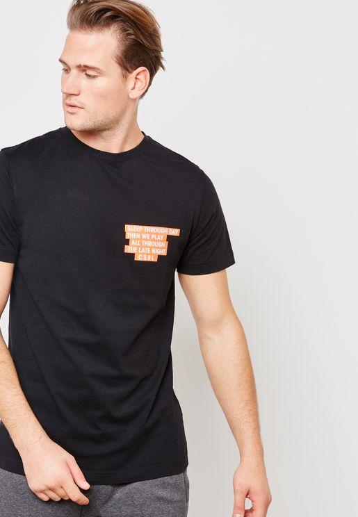 CSBL Late Night Crew Neck T-Shirt