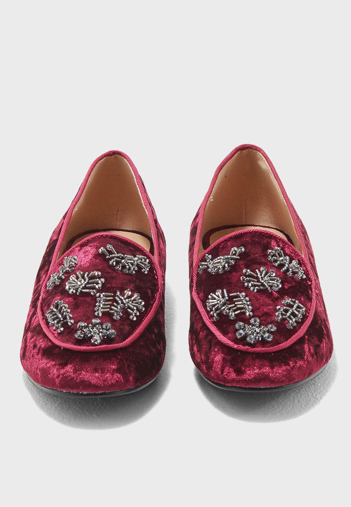 Linzi Embellished Loafers