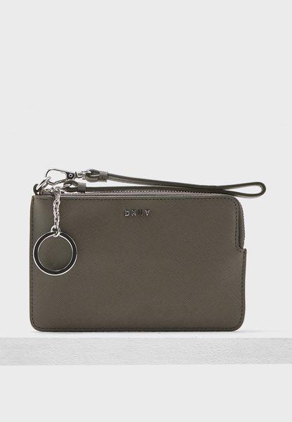 محفظة صغيرة بحمالة معصم