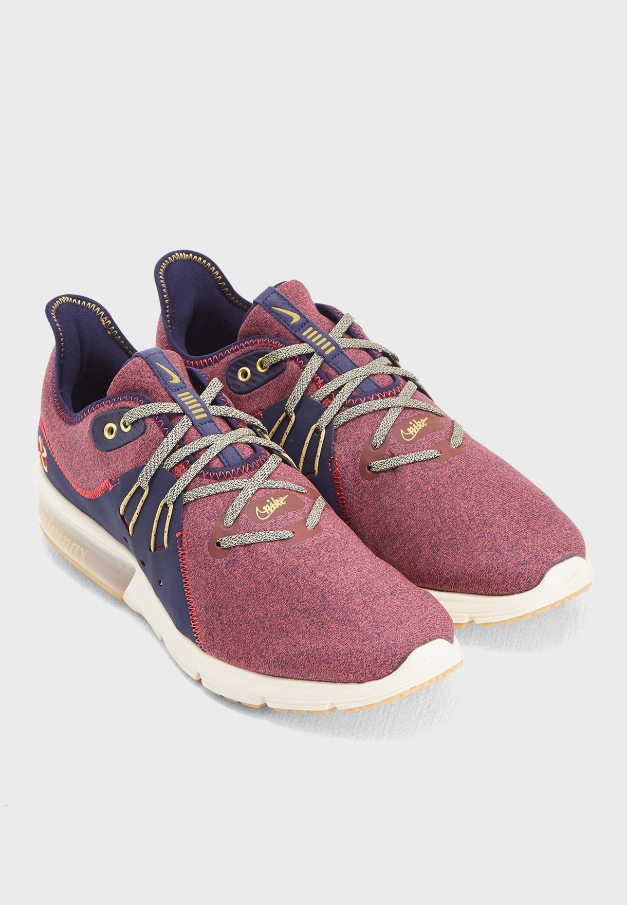 promo code ac187 af245 Shop Nike multicolor Air Max Sequent 3 PRM VST AR0253-600 for Men in ...