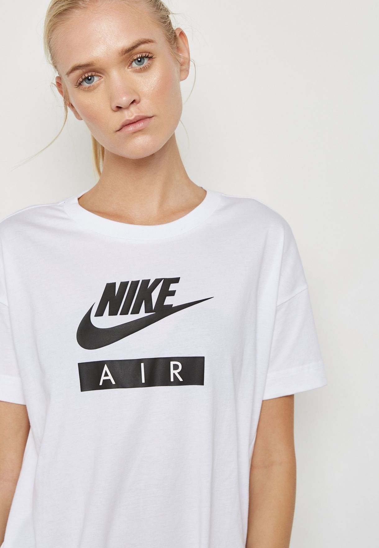 Shop Nike white Air T-Shirt AA1720-100 for Women in UAE - NI727AT39PWE 55a27fe59a