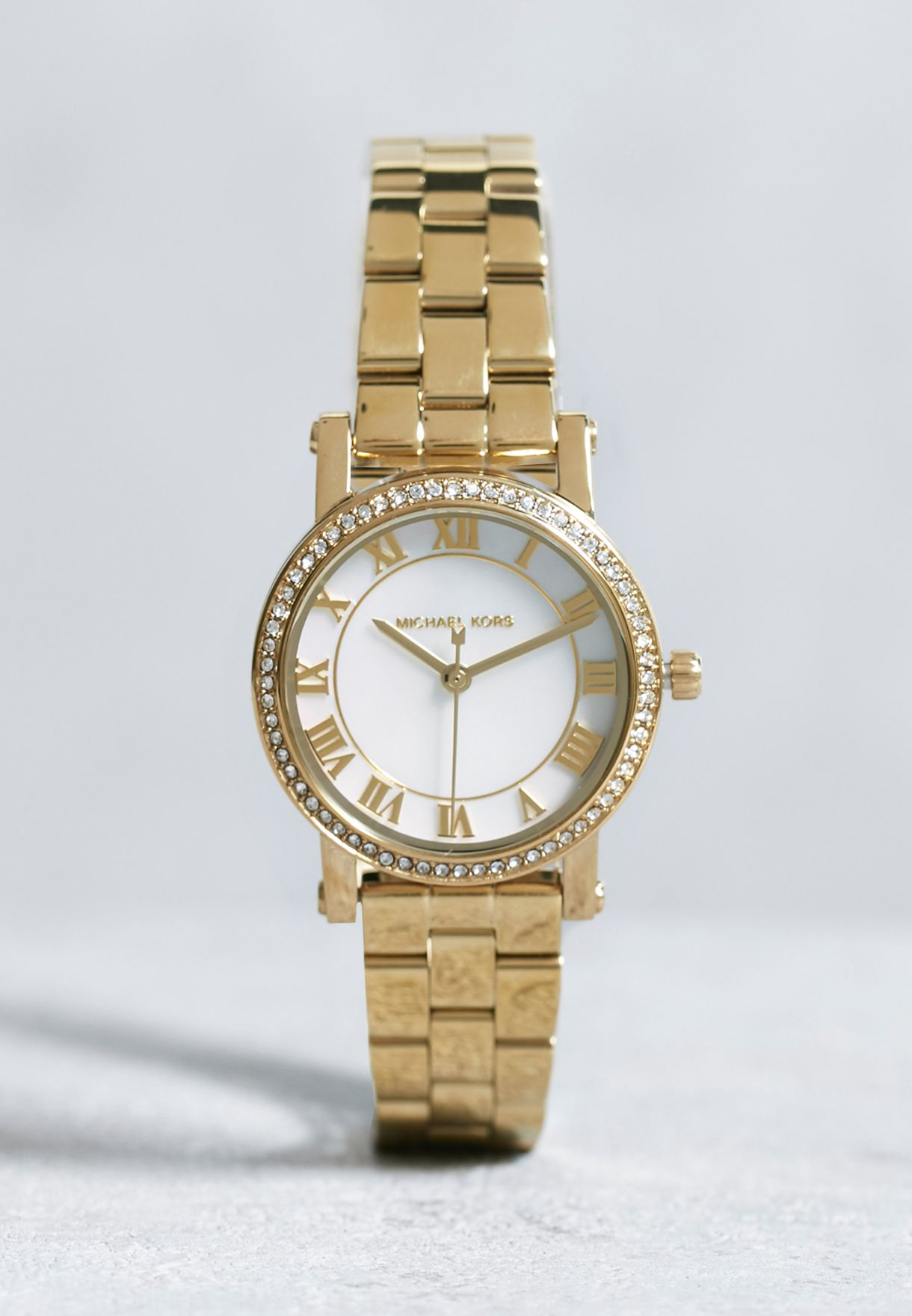 0330bed4e36e Shop Michael Kors gold Line Extensions Watch MK3682 for Women in UAE ...