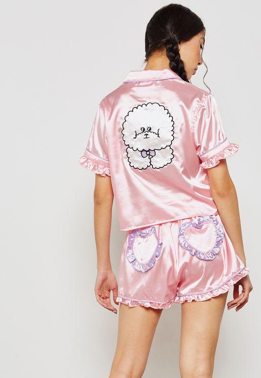 Call Me Puppy Pyjama Set
