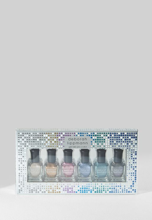 6 Pack Nail Polish Set - Liquid Metal