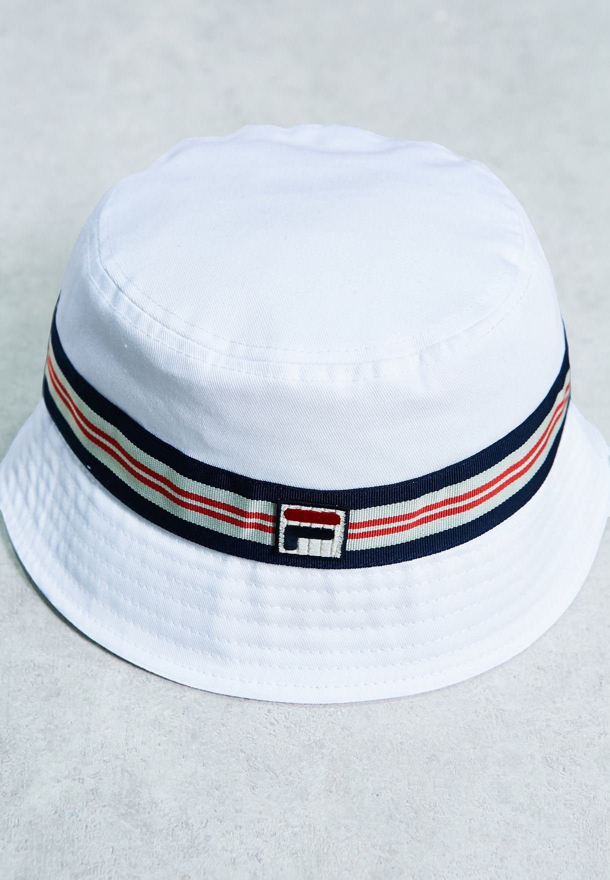 Shop Fila white Casper Bucket Hat XS15FHE009 for Men in UAE ... bc5872869