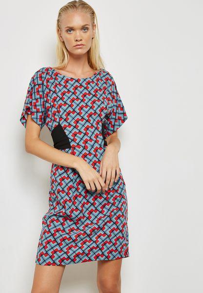 Waist Detail Midi Dress
