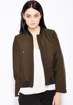 MANGO Ziip Through Jacket
