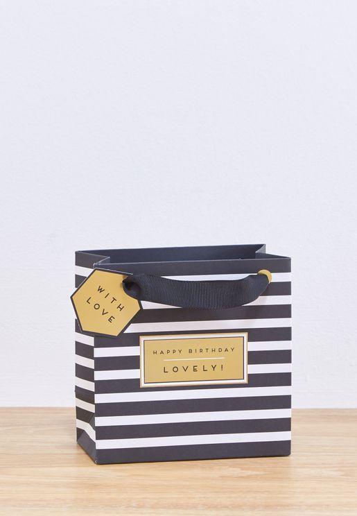 Happy Birthday Lovely Bag Small