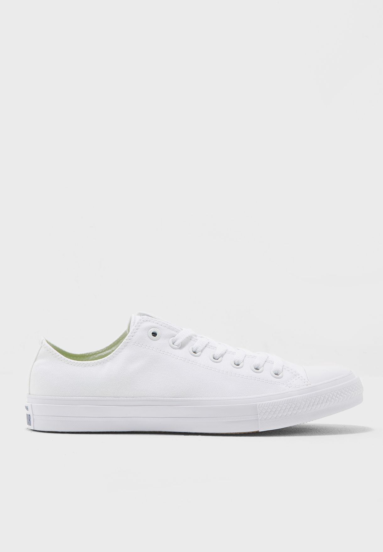 Shop Converse white Chuck Taylor All Star II Evergreen 150154C-100 for Men  in Qatar - CO049SH39PJS afa78144e
