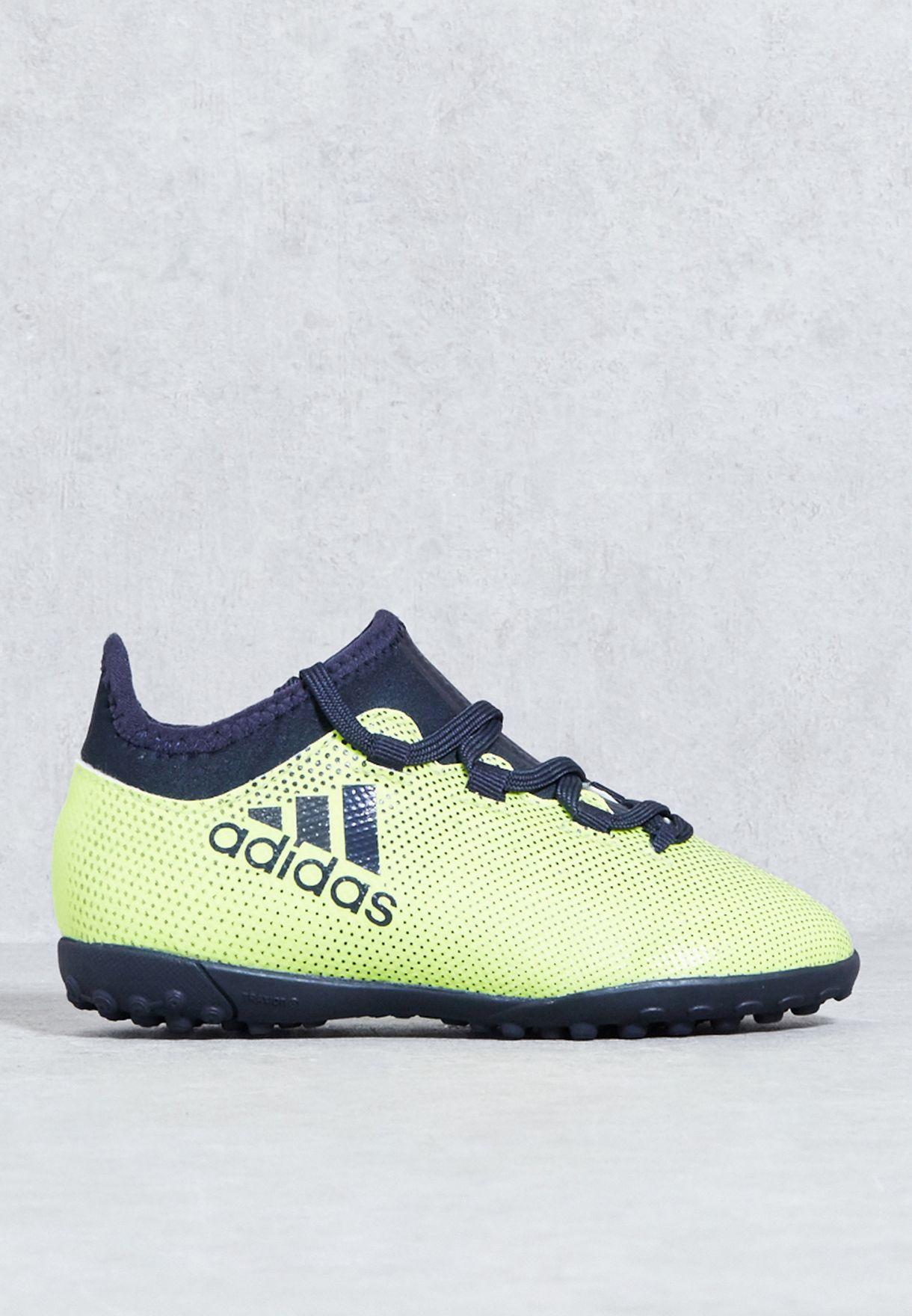 Shop adidas yellow X Tango 17.3 Turf J CG3733 for Kids in Oman -  AD476SH39IFG 5a6b23d99e