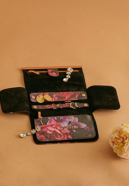 Floral Jewellery Roll