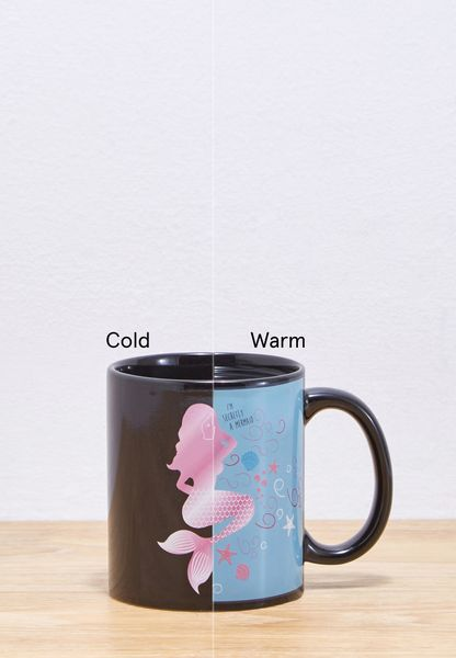 Mermaid Heat Changing Mug