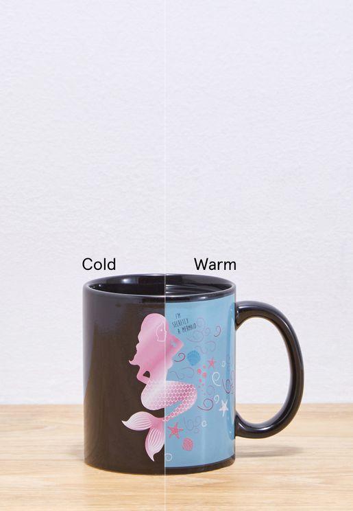 Mermaid Heat Changing Mug