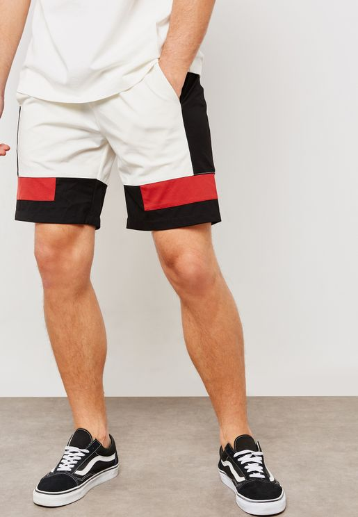 Paneled Lightweight Shorts