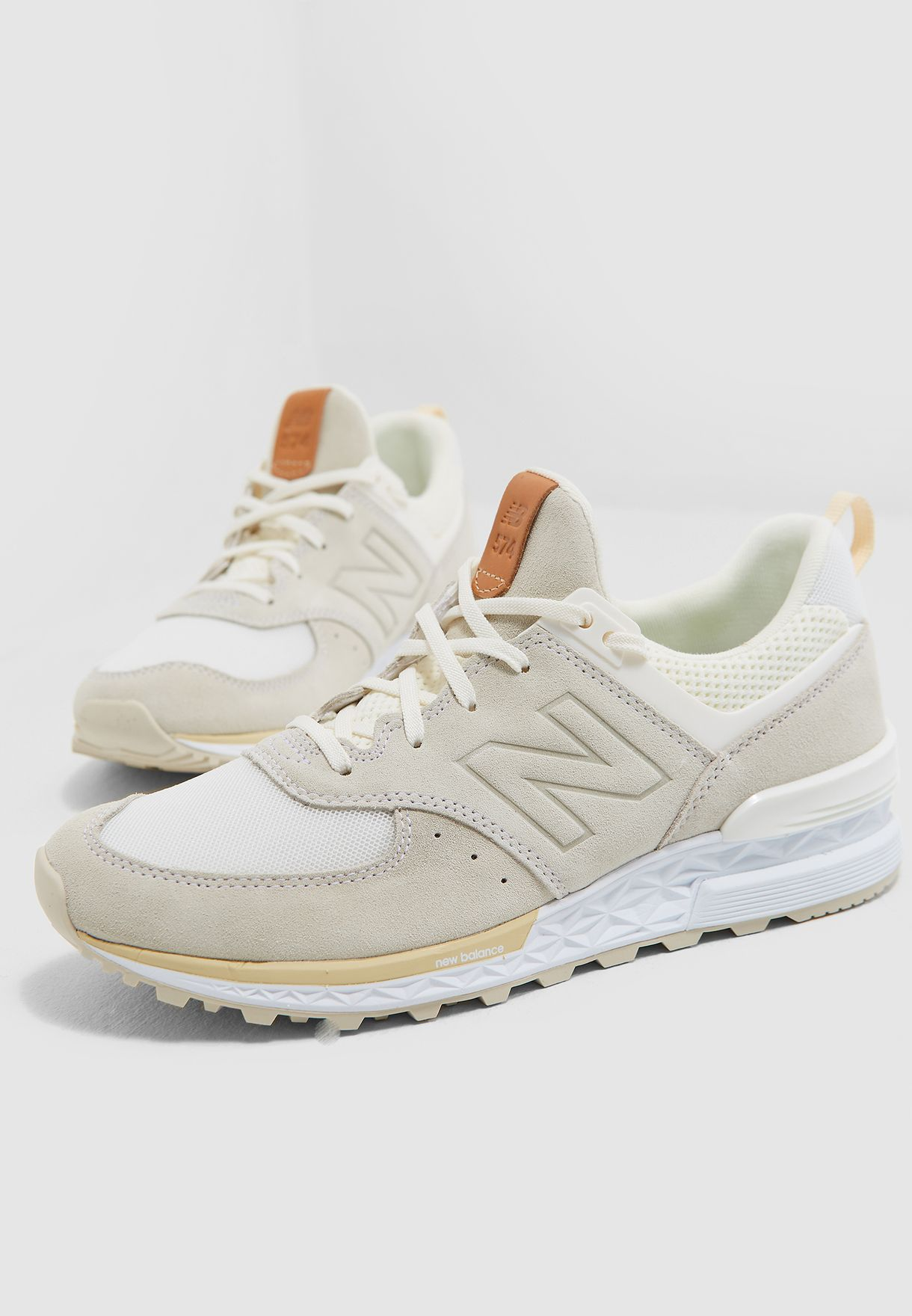 0b0045e9301e Shop New Balance white 574 Sport WS574PMA for Women in Qatar ...