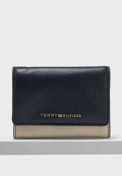 Small Leather Flap Over Purse