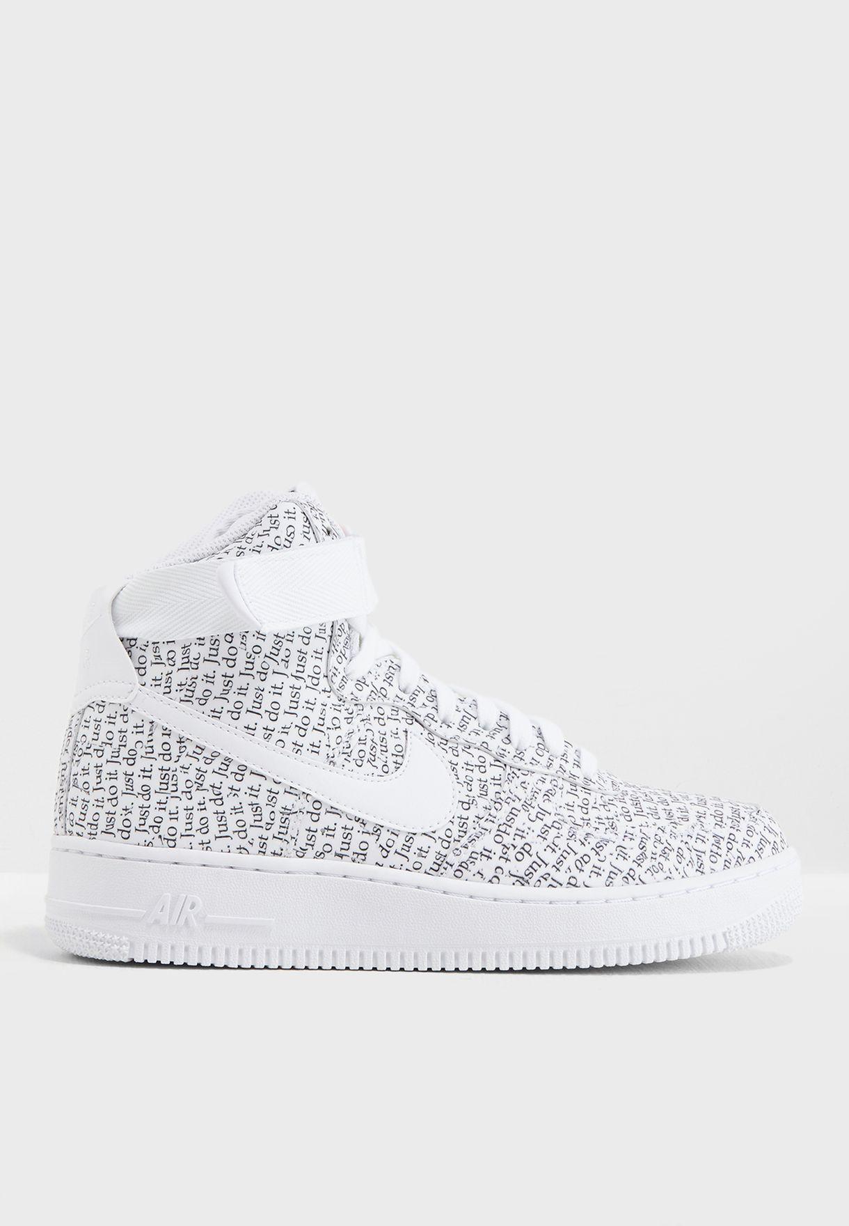 Shop Nike prints Air Force 1 Hi LX AO5138-100 for Women in Bahrain -  NI727SH39FMU dcd65e3dd