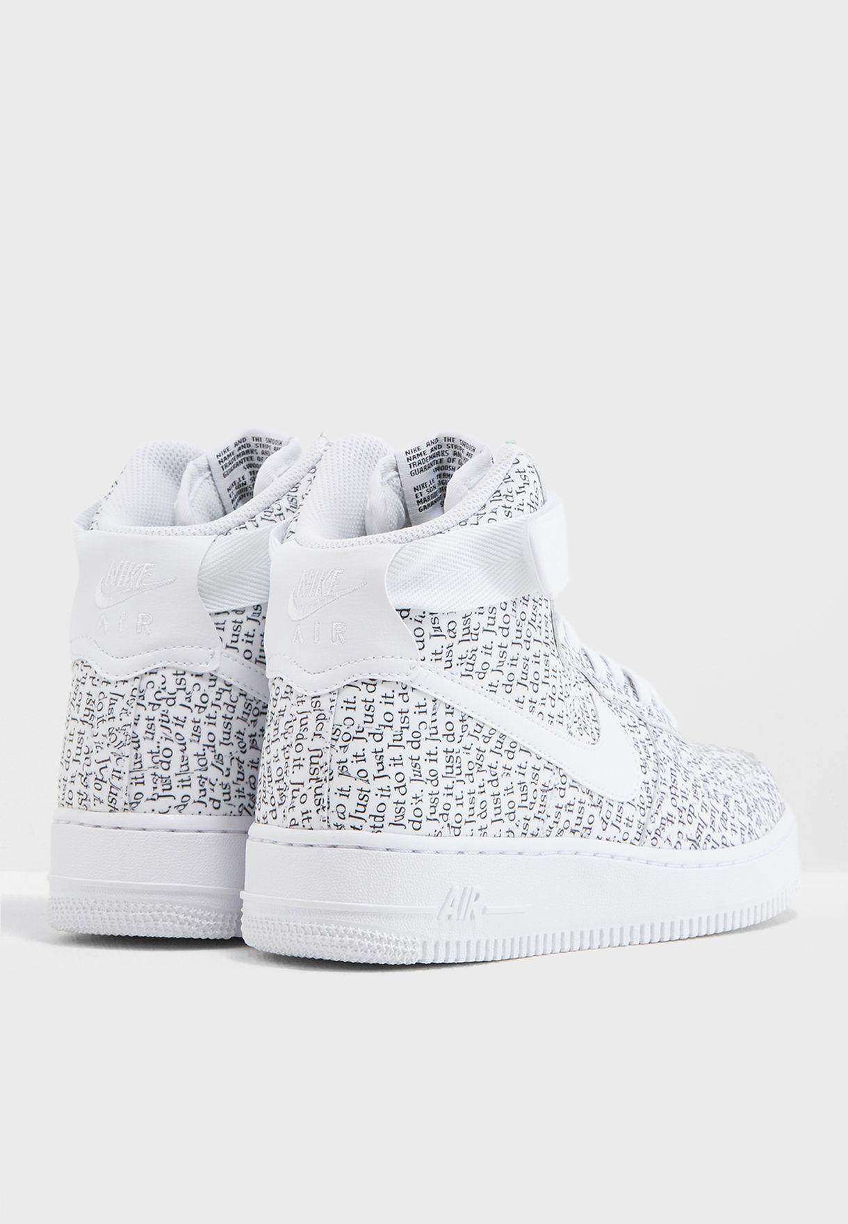 Shop Nike prints Air Force 1 Hi LX AO5138-100 for Women in Bahrain ... d712907e9