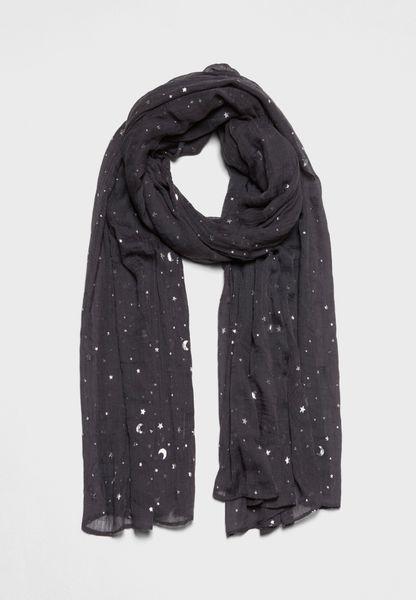 Star Foil Scarf