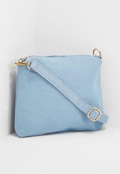 Denim Cosmetic Bag