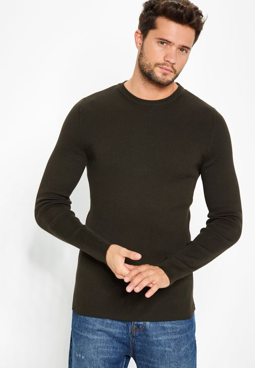 Muscle Fit Sweater