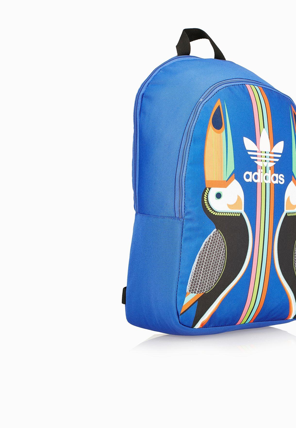 b1ecc60abc Shop adidas Originals blue Tukana Backpack AJ8514 for Women in ...