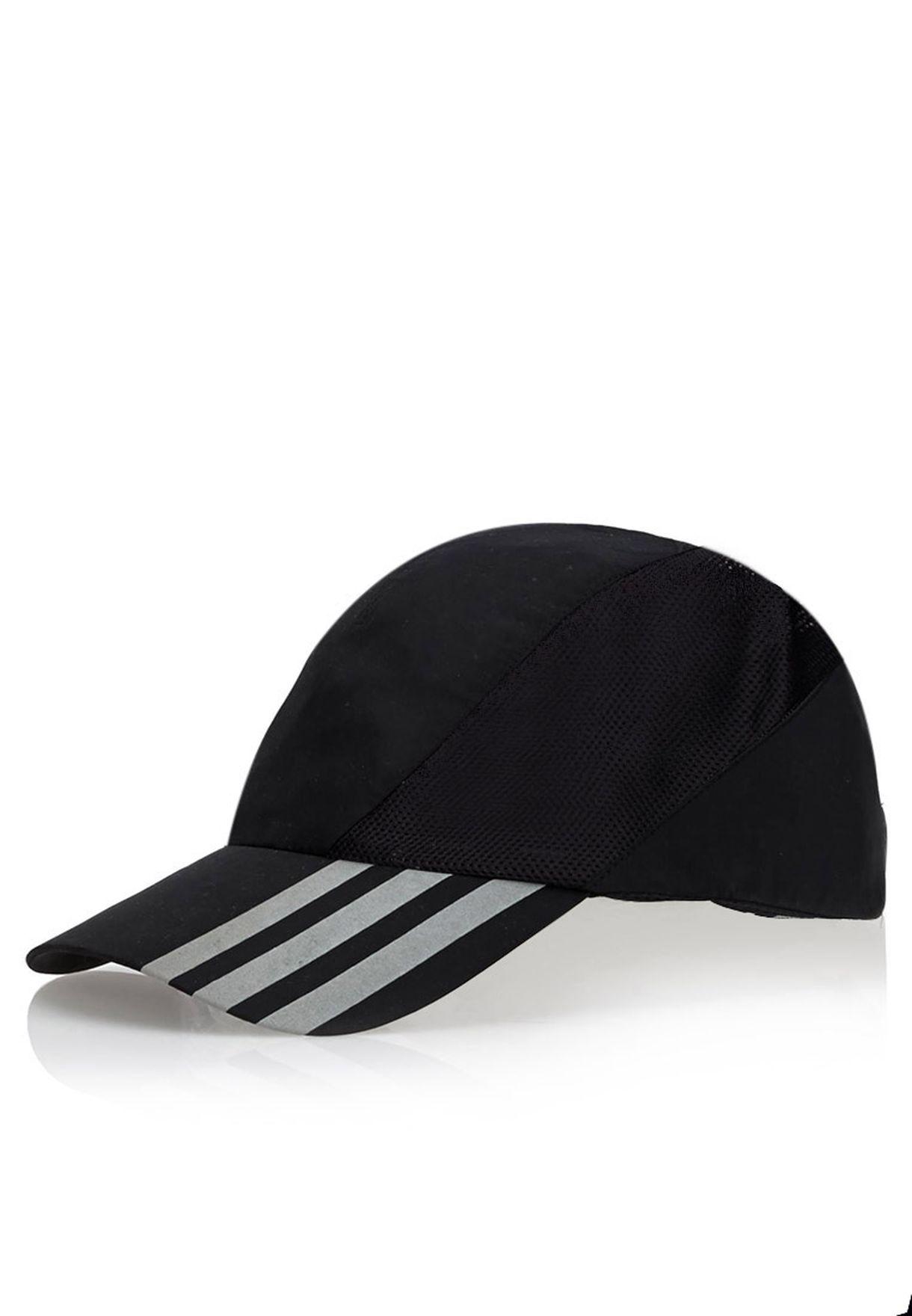 c8045ff86ae Shop adidas black Run 3S Cap M67558 for Men in UAE - AD476AC29RKO