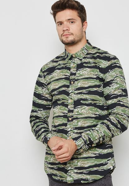 Hike Camo Printed Shirt