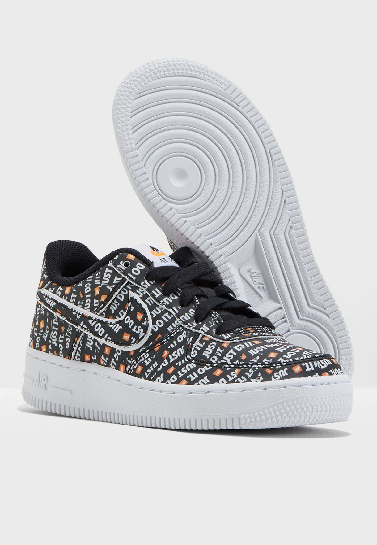 Shop Nike prints Youth Air Force 1 JDI PRM AO3977-001 for Kids in ... 81b357a21