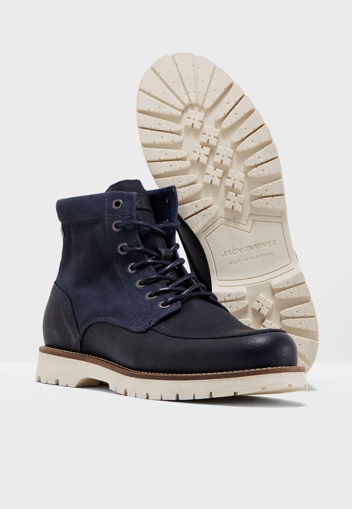 Flint Mixed Boots